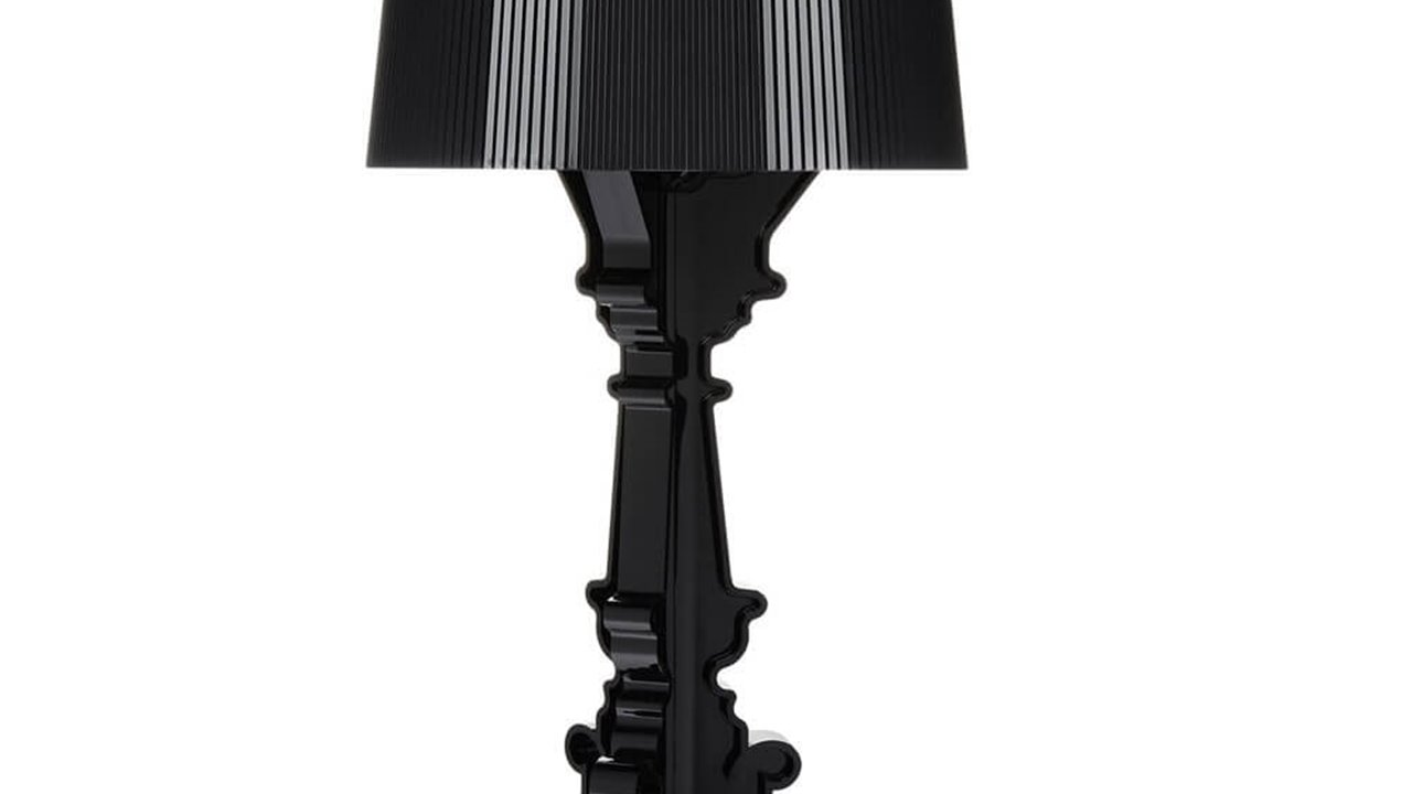 Kartell Bourgie Table Lamp (black).jpg