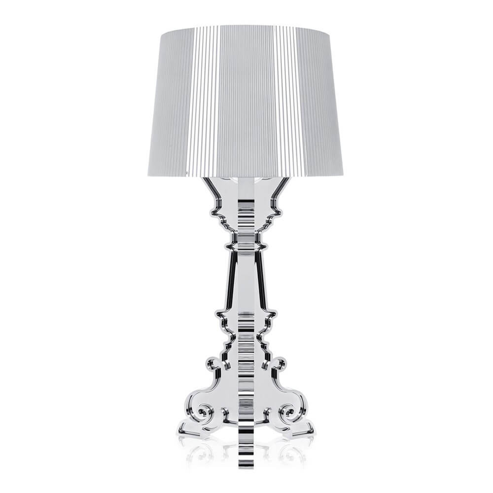 Kartell Bourgie Table Lamp (silver).jpg