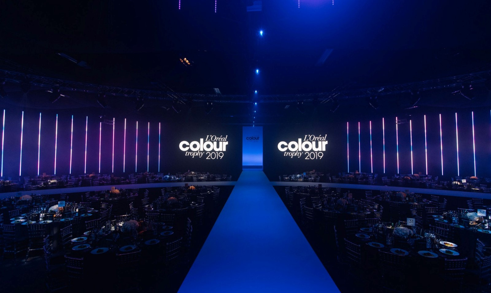 L'Oreal colour trophy awards 2019 Battersea Evolution)